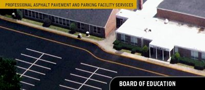 Board of Education Line Striping & Sealcoating Services - Precision
