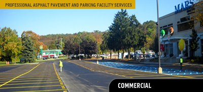 Commercial Line Striping & Sealcoating Services - Precision